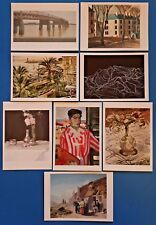 Set of 8 Different Art Postcards Corinth, Furgusson, Barns-Graham, Conti JB2763