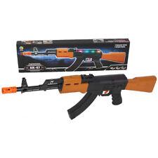 AK47 Assault Rifle with Light And Sound Toy Gun Kids