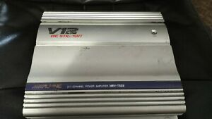 300 watt Alpine V12 classic 2 channel amplifier Mrv-t502. FREE SHIPPING!