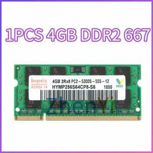 4GB 2GB 1GB DDR2 PC2-5300S 667MHz 1.8V Laptop Memory Notebook RAM For Hynix LOT