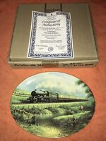 Wedgwood Collector Plate Railway Memories Down By The River Bradford Exchange