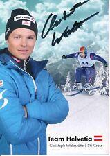 Christoph wahrstötter ski freestyle autografiada tarjeta firmada 374442