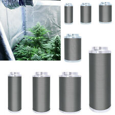 More details for hobby/pro carbon filter kit odour extraction fan aluminium ducting hydroponics