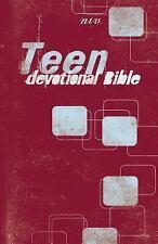 Teen - Devotional Bible by Zondervan Staff (1998, Hardcover)