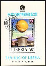 Liberia 1970 Mi 750 sheet 50 - EXPO '70 Osaka, Japan - CTO (2)