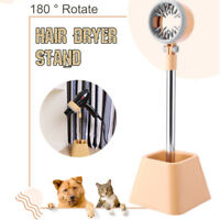 180° Rotary Pet Dog Cat Drying & Styling Hair Dryer Stand Grooming Drying Holder