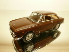 DETAILCARS 443 ALFA ROMEO 1300 JUNIOR COUPE 1969 - BROWN 1:43 - VERY GOOD