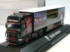 Herpa Scania R BLACK WARRIOR Gardinenplanen-Szg - 921459 - 1/87
