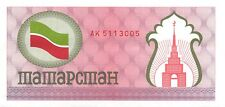 Tatarstan 100  Rubles  ND. 1991  P 5  Series  AK  Uncirculated Banknote LHJ15