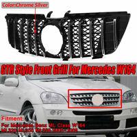 Pare-chocs GTR Avant Grille Pour Mercedes ML Class W164 ML320 ML350 ML550 05-08