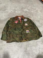 70s Vintage Sportswear American Field Mens Camo Jacket Size L
