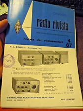 1967 - LISTINO RADIO RIVISTA - STANDARD ELETTRONICA ITALIANA -
