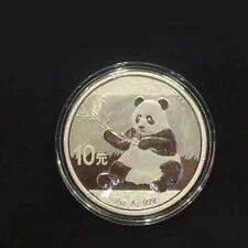 "2017 China Coin Panda ""Silver Color"" 10 Yuan COLLECTION Collect Coins"