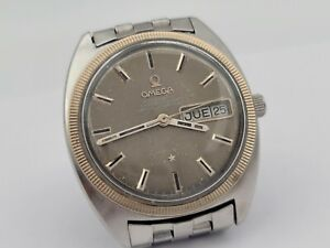 """Vintage OMEGA 168.029 Constellation """"C"""" Automatic Cal Ω752 COSC Gray Dial - 35mm"""