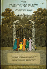THE DWINDLING PARTY by EDWARD GOREY (1982) POPUP BOOK 1st EDITION FINE