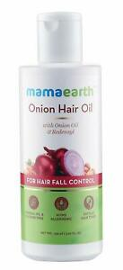 Mamaearth Onion Oil for Hair Growth & Hair Fall Control with Redensyl 150 ml