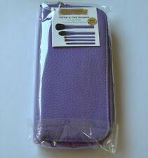 Sephora Here's The Skinny Brush Wrap - Purple - 5 brushes + case