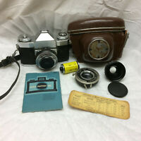 Vintage Contaflex Camera Zeiss Ikon Made in Germany Compur Lens