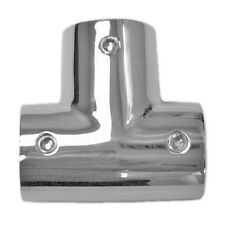 Stainless Steel Boat Handrail Fittings 90 Degree Tee 1""