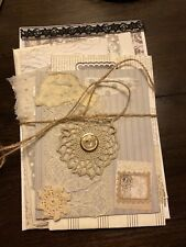 Embellished Stacked Envelopes For Junk Journals Or To Use As Is.