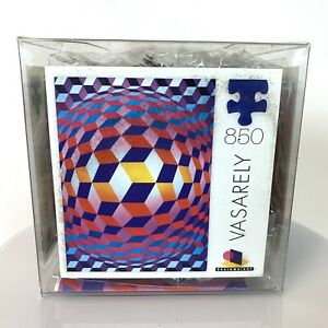 CORBIS Ceaco 850 Piece Jigsaw Puzzle Victor Vasarely Globe With Spheres Mod Art