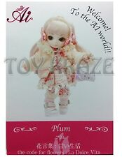 JUN PLANNING AI BALL JOINTED DOLL PLUM A-719 FASHION PULLIP GROOVE INC BJD NEW
