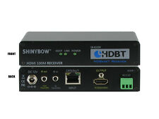 HDMI HDBaseT Receiver Over Single CAT 5e/6/7 Bi-Directonal IR RS232 SB-6335R