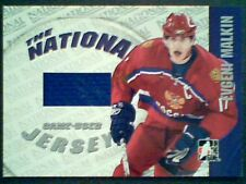 EVGENI MALKIN   AUTHENTIC PIECE OF A GAME-USED JERSEY /25