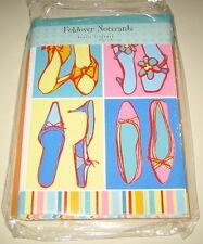Marcel Shurman Shoe Themed Statiionary 10 Blank Note Cards Envelopes