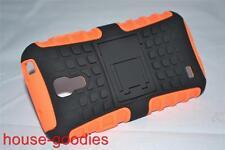Orange Heavy Duty Tradesman Case Cover for Samsung Galaxy S4 Mini 9190 9195 9197