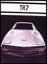 1977 Triumph TR7 Dlx. Brochure, Near MINT!