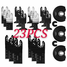 23PCS Oscillating Multi Tool Blades Saw Carbide Blade Set For Makita  Fein Bosch