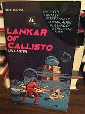Lankar of Callisto (Jandar 6) by Lin Carter, PB, 1975