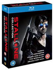SYLVESTER STALLONE COLLECTION [Blu-ray 5-Movie Box Set] Cobra, Demolition Man
