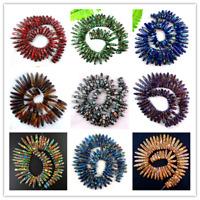 "1 Strand Charming Blue Sea Sediment Jasper Loose bead 15.5/"" M005RL"