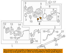 GM OEM Axle Differential-Rear-Differential Plug 55573646