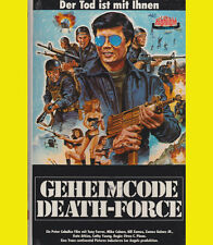 Last Target GEHEIMCODE DEATH-FORCE Tony Ferrer VHS Jim Gaines KAMPFSPORT Action