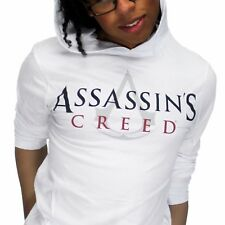 Assassins Creed Original Hoodie Long-Sleeve T-Shirt White
