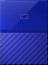 WD - My Passport 3TB External USB 3.0 Portable Hard Drive - Blue
