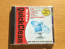Vintage Computer Shopper Software CD-ROM, McAfee QuickClean, Meeting Manager