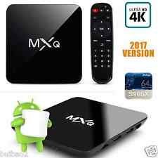 2017 MXQ M8S 4K UHD Quad Core Android 6.0 TV Box HD 1080P Online Media Player