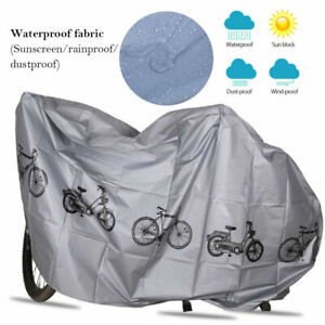 Universal Bicycle Waterproof Bike Cover Moped Scooter Sheet UV Weather Shelters