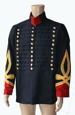 Husaren Jacke Dolman Hussar Uniform Napoleonic British Hussars Tunica sca KVM126