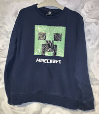 Boys Age 11 (10-11 Years ) Next Minecraft Sweater Top