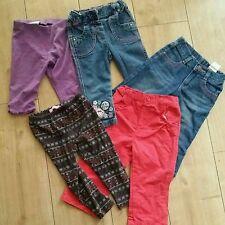 12-18 mesi Ragazza lungo Primavera Estate Inverno Pantaloni Jeans Leggings Bundle