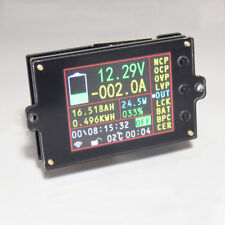 Battery Monitor Meter Wireless DC 120v 100a Volt Amp Ah Soc Remaining Capacity