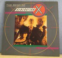 The Best Of Generation X UK Vinyl LP EXCELLENT CONDITION BILLY IDOL  B
