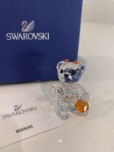 Swarovski Crystal Figurine Kris Bear Halloween 2011 Limited Edition 1096026 NIB