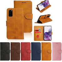 Case For Samsung Galaxy Note 20 A41 A21 A71 A11 S20FE Leather Wallet Phone Cover