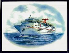Original Art Work ...ms CELEBRATION ... cruise ship...Carnival Cruise Line
